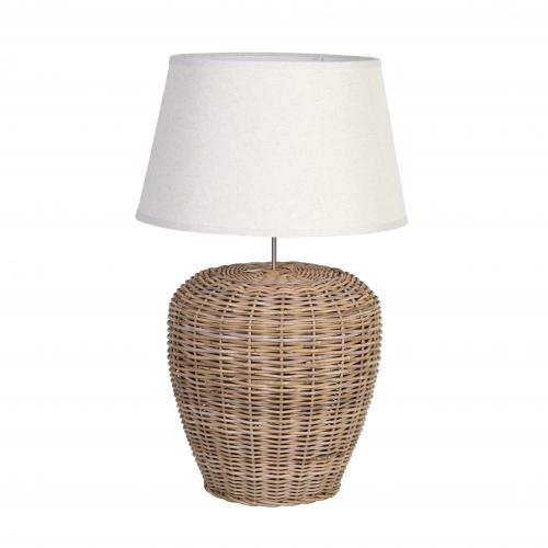rattan lampbase