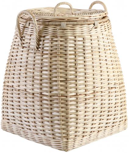 Block & Chisel round boboko wicker laundry basket