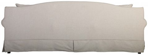 Block & Chisel linen upholstered sofa