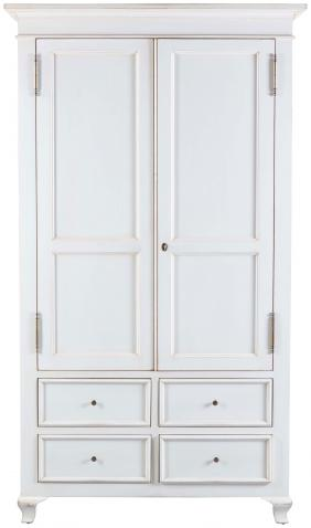 Block & Chisel Antique White utility cupboard