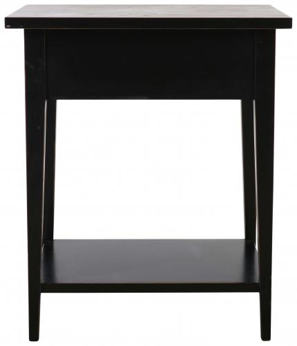 Block & Chisel matt black pedestal
