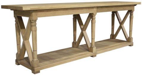 Block and chisel solid oak server