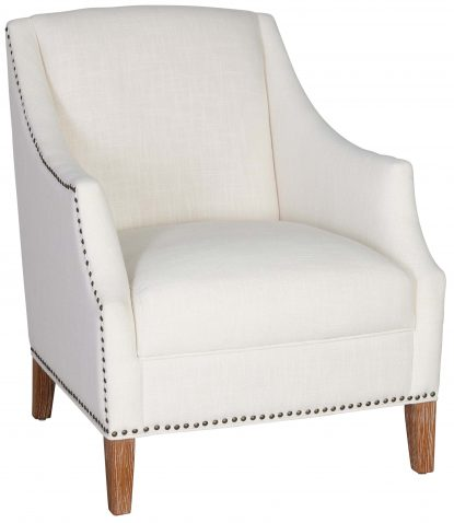 Block & Chisel off white upholstered occasional chair