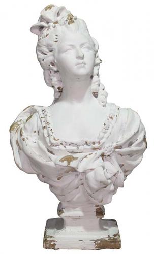 Block & Chisel lady bust statue