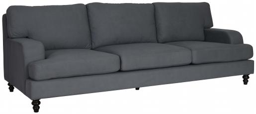 Block & Chisel elektra charcoal upholstered sofa