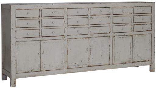 Block & Chisel grey oriental inspired sideboard