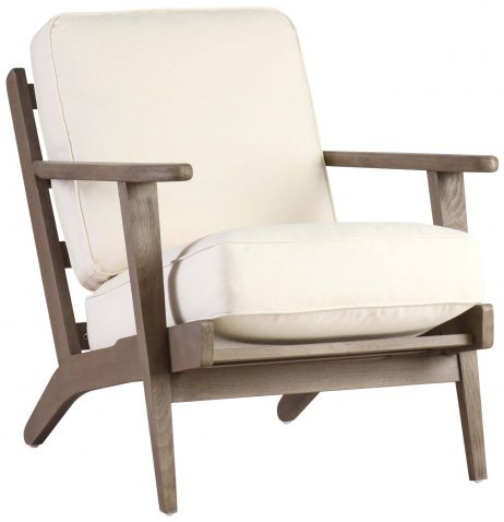Block & Chisel cream upholstered occasional chair