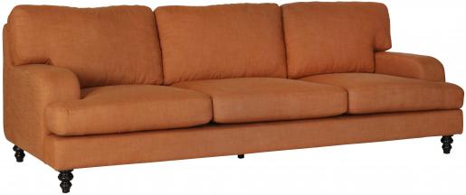 Block & Chisel remo patina upholstered sofa