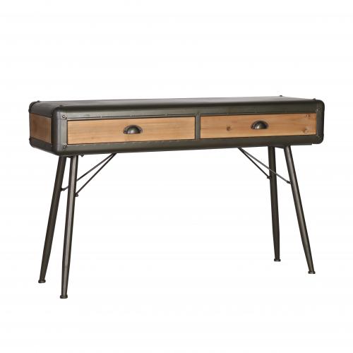 Block & Chisel Modern Industrial Style Desk