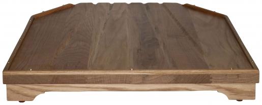 Block & Chisel solid weathered oak draining board