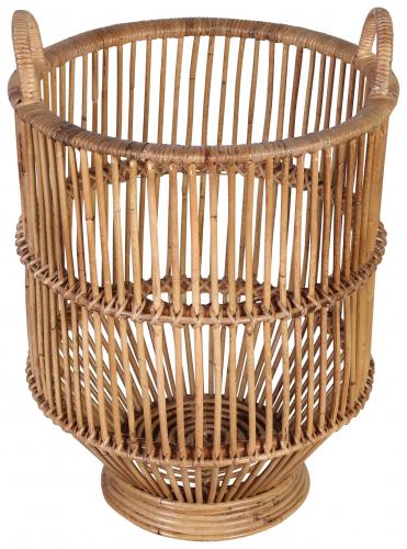 Block & Chisel croco rattan basket