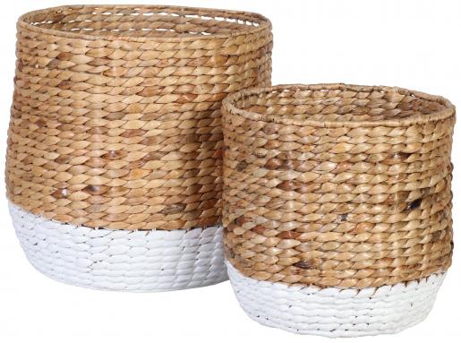 Block & Chisel water hyacinth basket