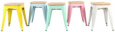 BLOCK AND CHISEL EMO STACKING STOOL