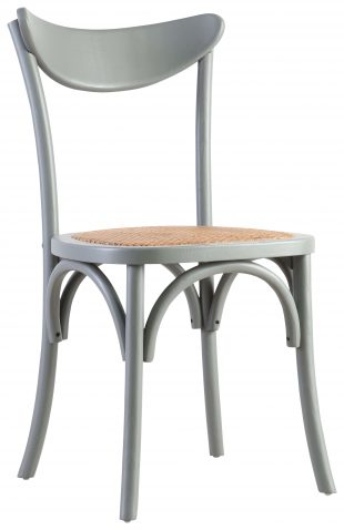 Block & Chisel grey sailback dining chair