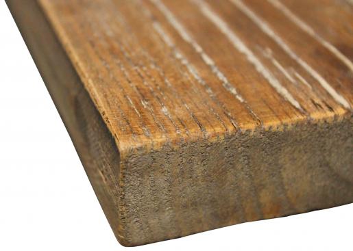 Block & Chisel rectangular old elm wood coffee table