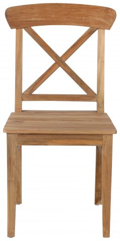 Block & Chisel reclaimed teak dining chair