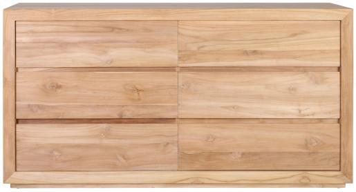 Block & Chisel teak wood dresser