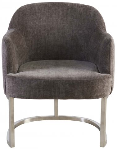 Block & Chisel grey upholstered occasional chair