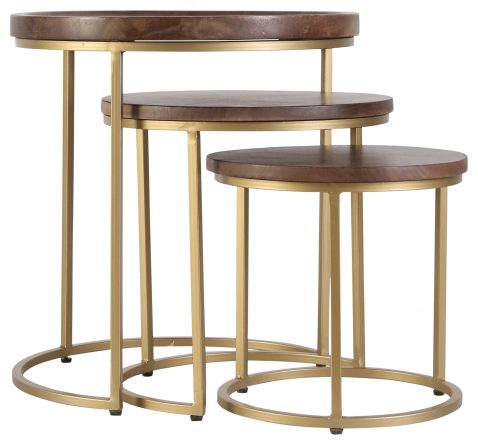 Block and chisel urban nesting tables