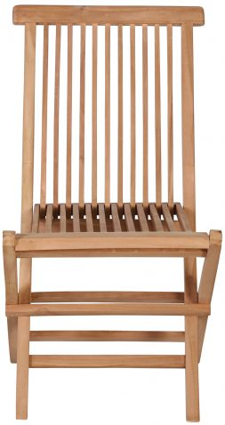 Block & Chisel teak foldable dining chair