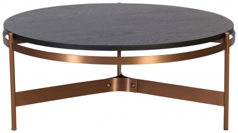 Block & Chisel round coffee table