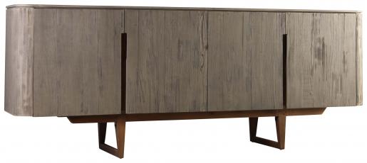 Block & Chisel 4 door old fir wood sideboard