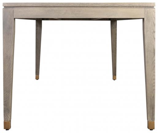 Block & Chisel oak wood dining table