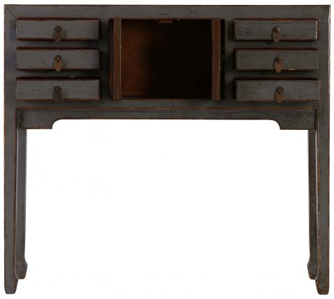Block & Chisel grey wooden console