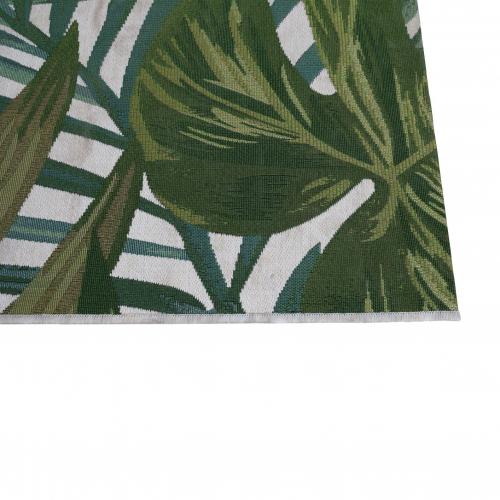 Jungle print rug