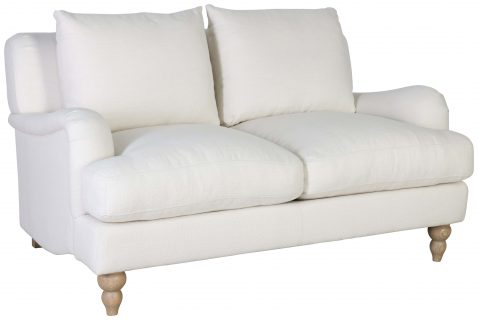 Block & Chisel mission upholstered 2 seater sofa