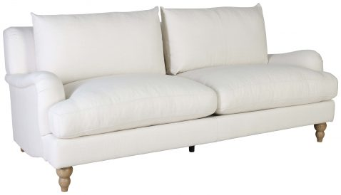 Block & Chisel mission upholstered 3 seater sofa
