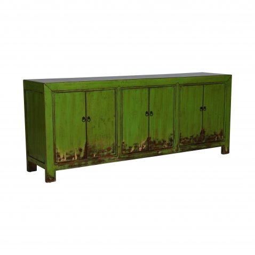 Block & Chisel lime wooden sideboard
