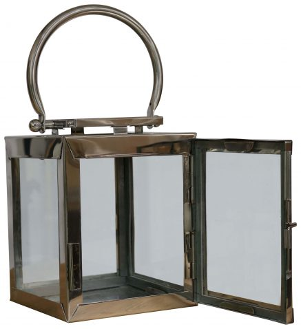 Block & Chisel pipe lantern with steel frame