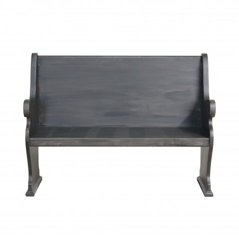GREY PAINTED BENCH