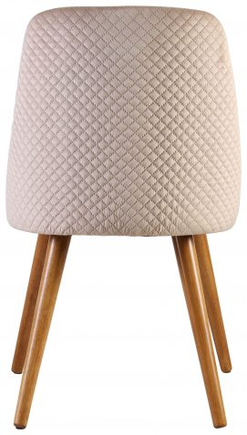 Block & Chisel beige upholstered dining chair