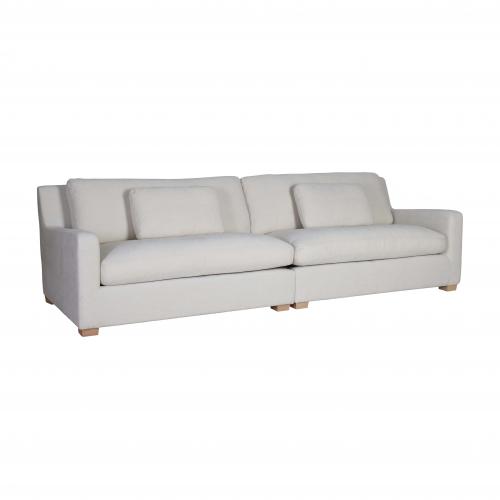 4 seater sofa in cream