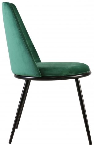Block & Chisel green charpie upholstered occasional chair