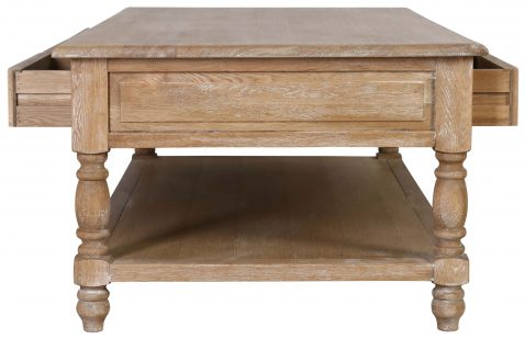 Block & Chisel oak & multilayer coffee table