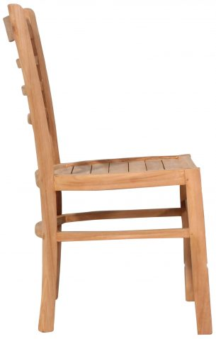 Block & Chisel teak wood dining chairs