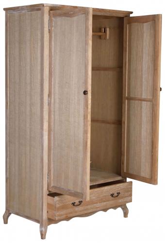 Block & Chisel oak & multilayer board wardrobe