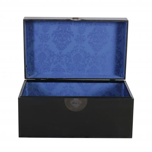 black storage box