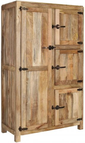 Block & Chisel mango wood cabinet