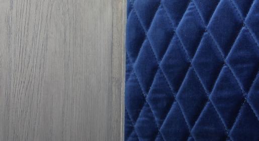 Block & Chisel oak wood bar cabinet