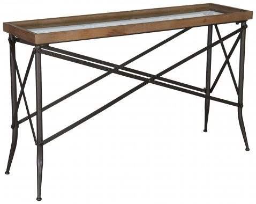 Block & Chisel rectangular console table