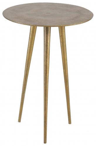 Block & Chisel aluminium side table