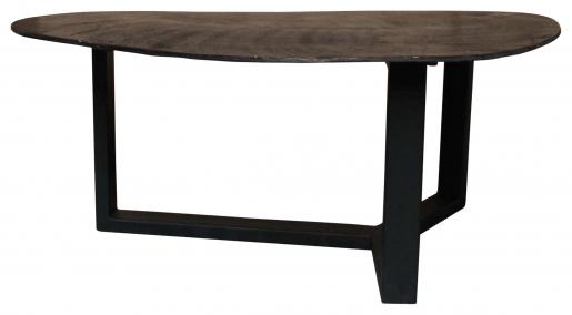 Block & Chisel metal coffee table