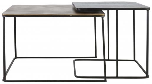Block & Chisel rectangular nesting tables