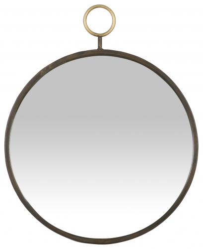 Block & Chisel round mirrorr