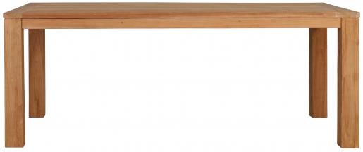 Block & Chisel rectangular outdoor teak wood dining table