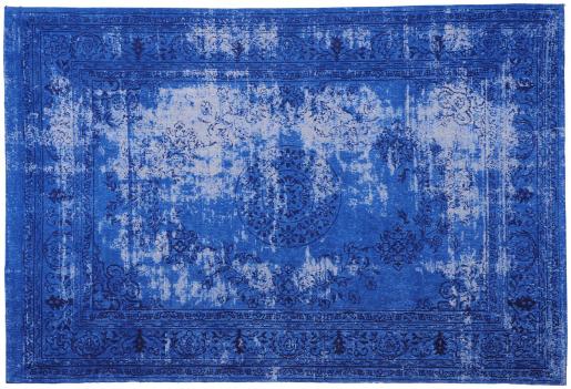 Block & Chisel blue printed rug